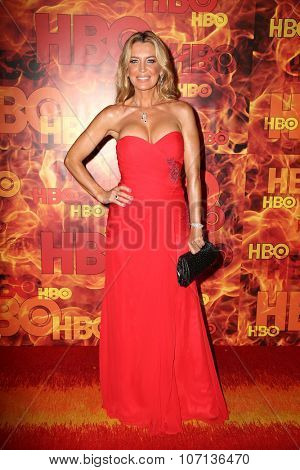 LOS ANGELES - SEP 20:  Sandra Vidal at the HBO Primetime Emmy Awards After-Party at the Pacific Design Center on September 20, 2015 in West Hollywood, CA