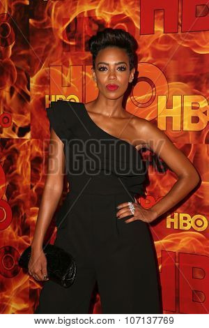 LOS ANGELES - SEP 20:  Jazmyn Simon at the HBO Primetime Emmy Awards After-Party at the Pacific Design Center on September 20, 2015 in West Hollywood, CA
