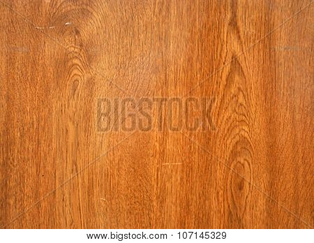 the wood under the varnish