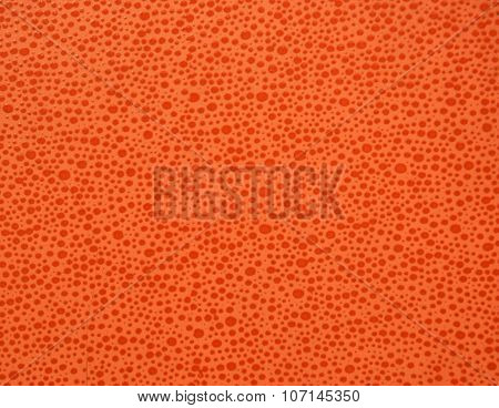 orange tiles from drops and bumps