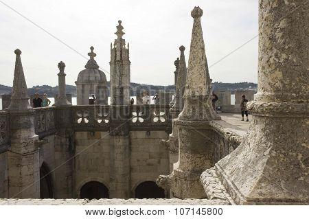 Inner Cloister Of Belem Tower