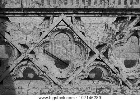 Ornamental Stone Balustrade Of Belem tower