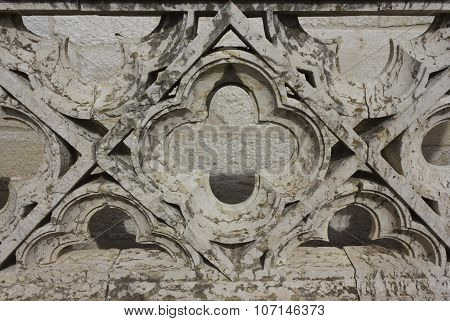 Ornamental Stone Balustrade