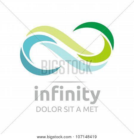 Logo Infinity flower