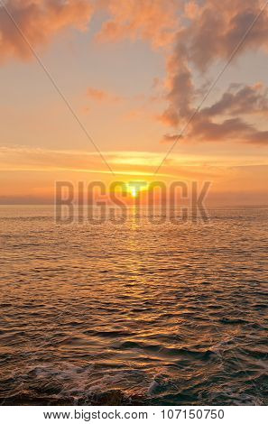 Sunset On Grand Cayman Island, Cayman Islands