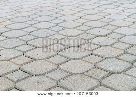 Ground Tiles Forms, Decorative Pavement