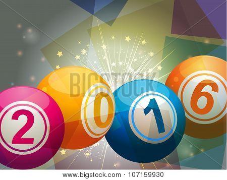Bingo Lottery Balls 2016