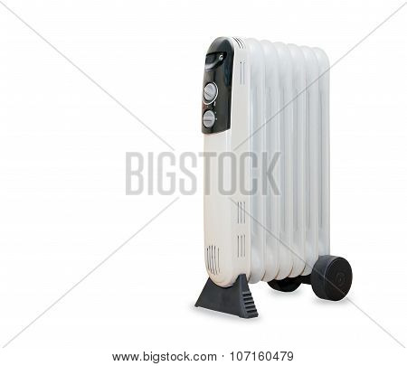 Oil electric radiator heater isolaited