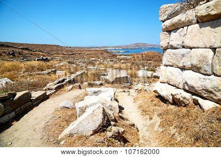 Famous   In Delos   Historycal Acropolis  Site