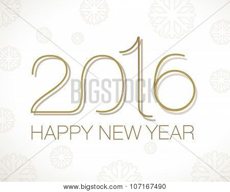 Original Happy New Year Vector illustration