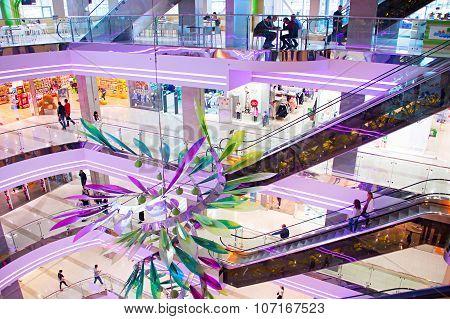 Modern Shopping Mall, Kiev, Ukraine