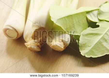 Lemon grass and bergamot leaf