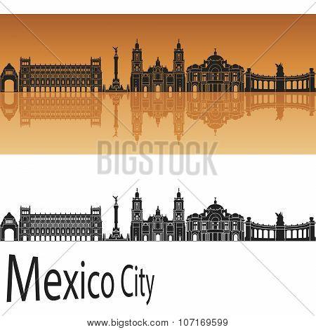 Mexico City V2 Skyline