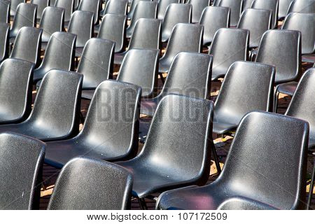 Empty Seat In Italy Europe Background