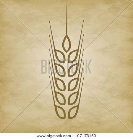 Logo Wheat Icon