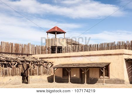 Wooden American Fort