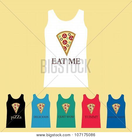 Shirt Funny Pizza