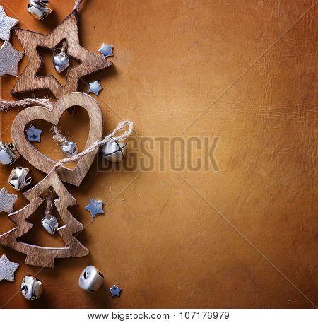 Art Christmas Tree Decoration; Christmas Background