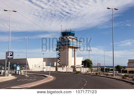 Airport Of Almeria, Spain