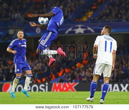 LONDON, ENGLAND - NOVEMBER 04 2015: Baba Rahman of Chelsea during the UEFA Champions League match between Chelsea and Dynamo Kyiv at Stamford Bridge on November 04, 2015 in London, United Kingdom.