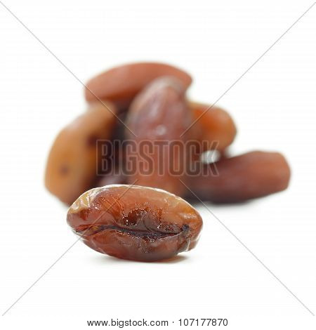Date Palm (fruit) Isolate On White Background