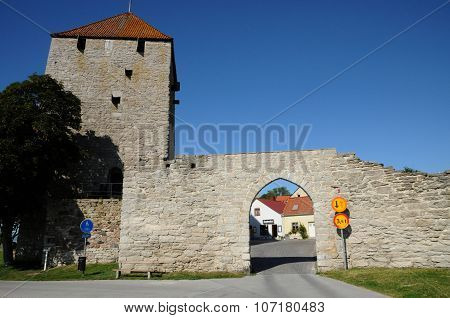 Old And Picturesque City Of Visby