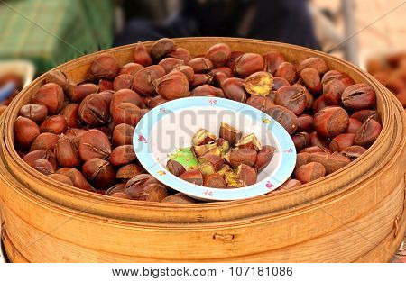 Steamed Chestnuts For Sale