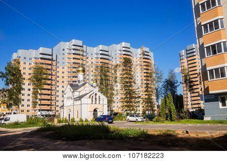 New Buildings Moscow Suburbs In Russian - Village Nekrasovskiy On Dmitrovsky Highway