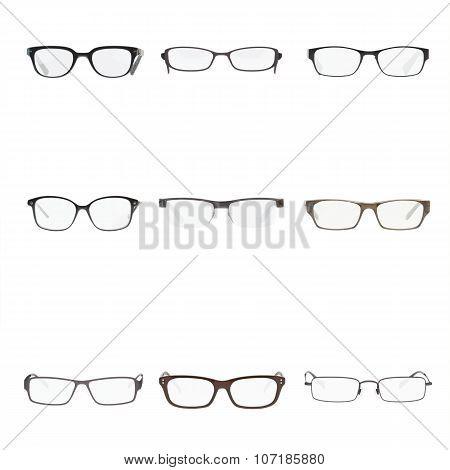 Set of a glasses