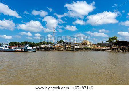 Guajara Bay in Belem do Para, Brazil