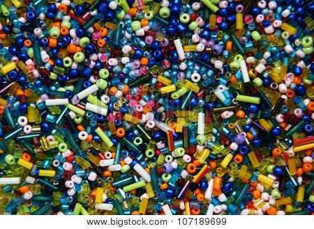 Glass Beads Background