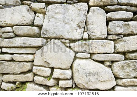 Stone wall detail in high resolution