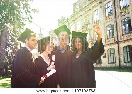 Concept for student graduation day