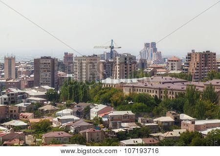 View Of The City Of Yerevan
