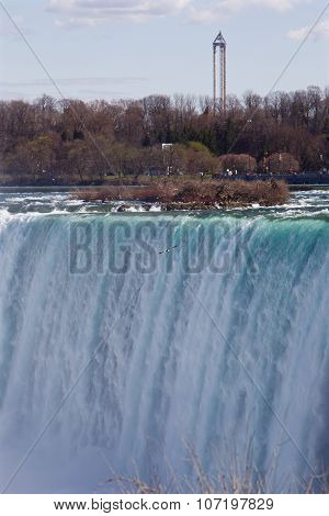 The Niagara Falls Background