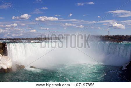 The Fantastic Beautiful Niagara Falls And The Mist