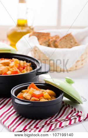 Chicken And Vegetable Warming Soup