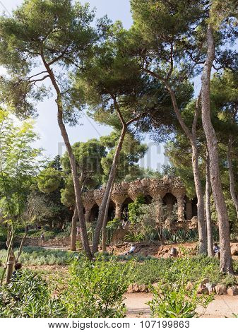 Beautiful Park Guell