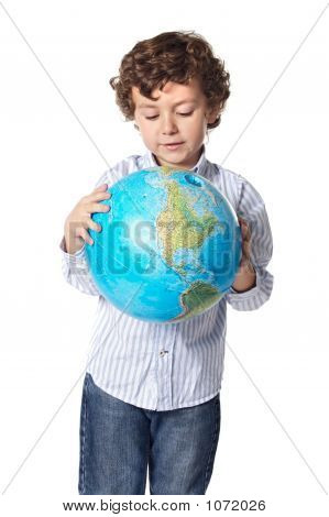 Boy And The Planet Earth