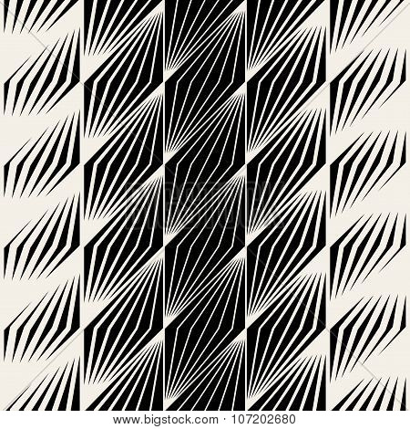 Vector Seamless Parallelogram Halftone Oblique Lines Pattern