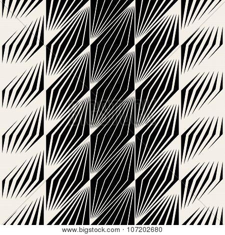 Vector Seamless Parallelogram Halftone Oblique Lines Pattern