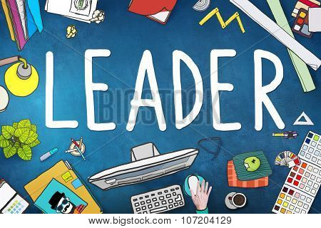 Leader Leadership Manager Management Director Concept