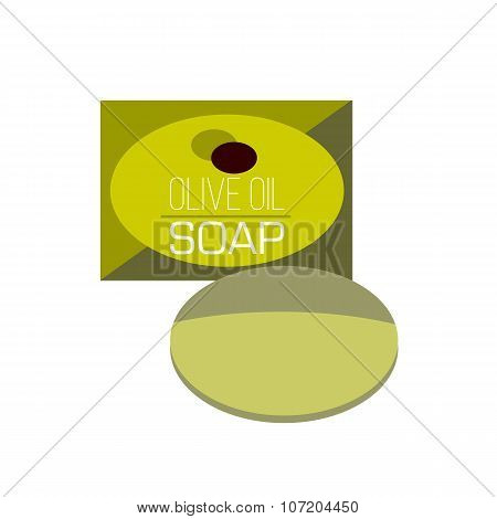 bar of soap flat icon