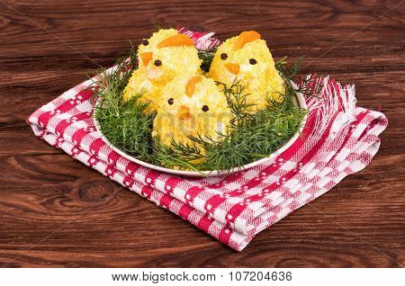 Dish Chicken Eggs
