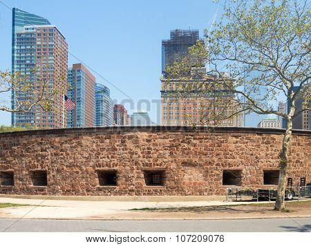 Castle Clinton at Battery Park in New York City