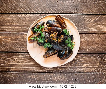Moroccan Mussels