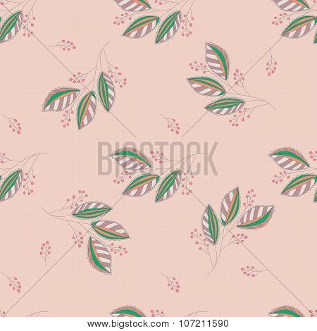 Seamless Botanical Pattern