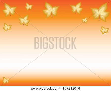 Fall Autumn Leaves Background