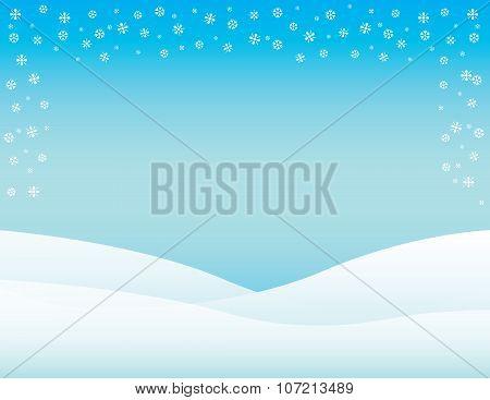 Winter Background Horizontal