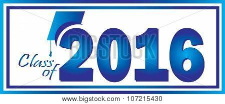 Graduation Class of 2016 Logo Background